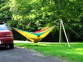 hammock stand DIY